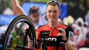 Rohan Dennis, un expistard austrañliano, primer líder de la Vuelta