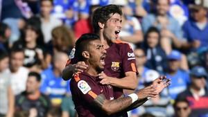Paulinho y Sergi Roberto, claves