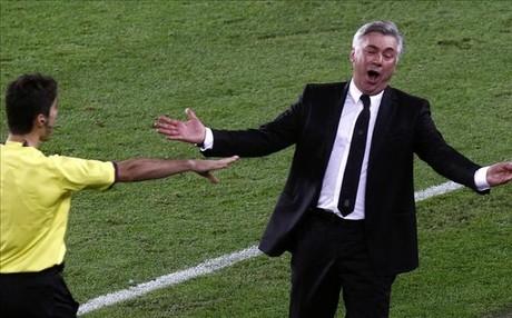 Ancelotti est� nervioso