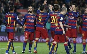 El Barcelona tiene un partido pendiente frente al Sporting