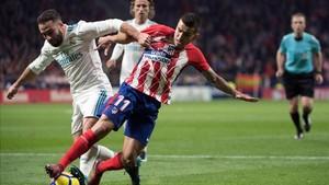 Carvajal estaba enfadado con el empate ante el Atlético