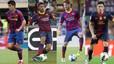 Old friends: Celta Vigo have FOUR ex-Barcelona players