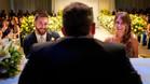 Leo Messi y Antonela Roccuzzo durante su boda en Rosario (Argentina)