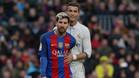 Exclusiva: Las muestras de cariño entre Leo Messi y Cristiano Ronaldo