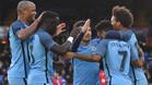 El Manchester City no tuvo piedad del Crystal Palace