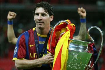 Messi llega a los 100 partidos en Europa