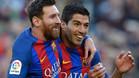 Leo Messi y Luis Suárez se colocan a un gol de la Bota de Oro