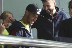 Piqu� y Neymar viajar�n a Catar