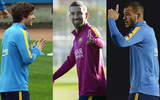 Las alternativas a Luis Su�rez para el Espanyol - Bar�a de la Copa