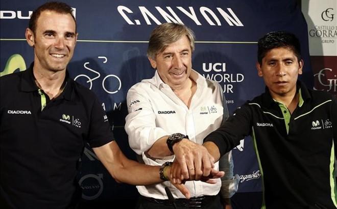 Valderde y Quintana, las estrellas del Movistar para las grandes vueltas del 2017