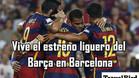 Vive el Barça-Málaga en Barcelona