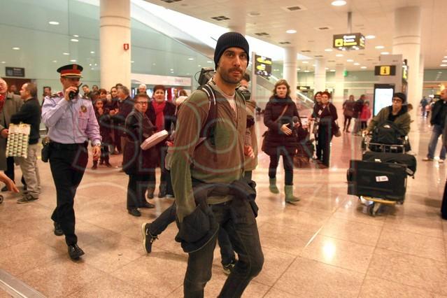 Хипстер Гвардиола в аэропорту Барселоны (ФОТО)