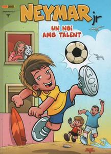 Neymar va a lanzar su cómic en catalán