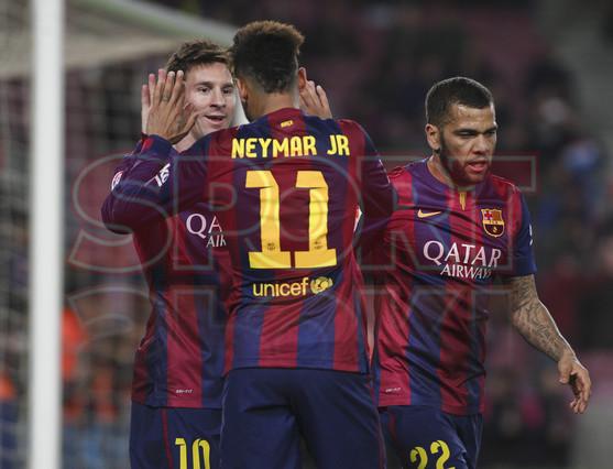 صور : مباراة برشلونة - فياريال 3-1 ( 11-02-2015 ) 1423690199856