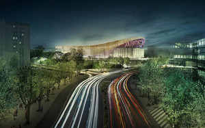 El proyecto arquitectónico del nuevo Palau