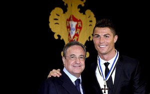 Cristiano y Florentino Pérez