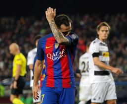 Las imágenes del FC Barcelona, 4 - Borussia Moenchengladbach, 0