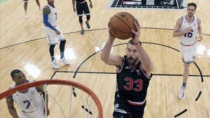 Marc Gasol regresa al All Star tras su último partido, en 2015