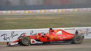 Raikkonen, en pista con el nuevo Ferrari