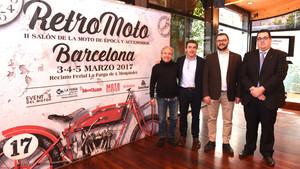 Presentación de la segunda edición del RetroMoto Barcelona