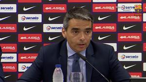 Albert Soler anunció los cambios en la estructura del FC Barcelona de basket