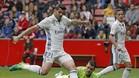 Álvaro Morata está disfrutando de pocos minutos en el Real Madrid