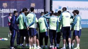 El Barça prepara el compromiso ante el Villarreal