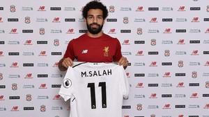 Salah lucirá el dorsal 11 en el Liverpool