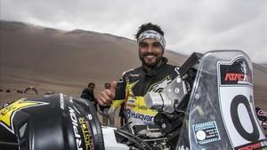 El chileno Quintanilla, rey en Atacama