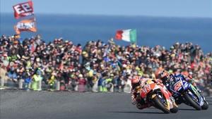 Márquez se va de Australia con medio título en el bolsillo