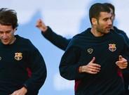 Alfonso y Guardiola fueron compañeros en el Barcelona