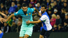 Arda Turan repite en el once titular del Barcelona