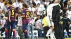 El Barça decepcionó en el Bernabéu