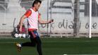 Cheryshev se entrenó por primera vez con el Valencia