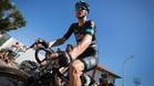 Chris Froome en la salida de la tercera etapa de la Vuelta a Espa�a