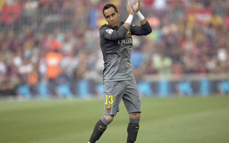 Claudio Bravo se ha consolidado como el portero titular en la Liga