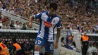 Hern�n P�rez es uno de los jugadores m�s destacados del Espanyol