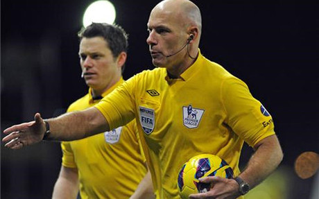 Howard Webb pitar� al Real Madrid