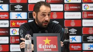 Machín analizó la previa del Girona-Real Sociedad