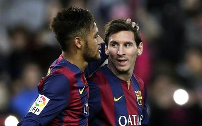 Messi y Neymar, entre losfutbolistas mejor pagados del mundo