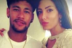 Neymar y Soraya, en una imagen colgada en redes sociales
