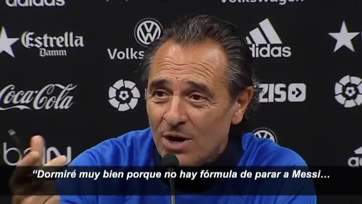 """Prandelli: \""""No hay forma de parar a Messi\"""""""