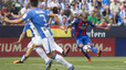 Luis Enrique congratulates Rafinha as midfielder makes his case to start