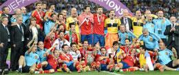 XIV EUROCOPA (POLONIA Y UCRANIA 2012) - Campeón: ESPAÑA