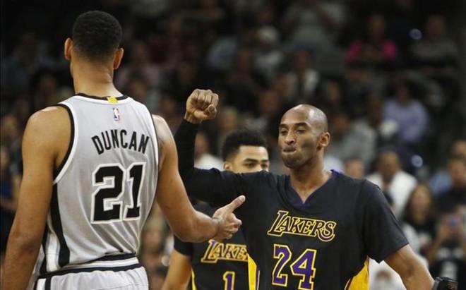 Duncan y Kobe, dos competidores natos con personalidades opuestas