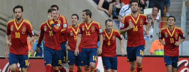 Spains opener v Nigeria, scored by Jordi Alba, was a Tiki Taka masterpiece [all passes]