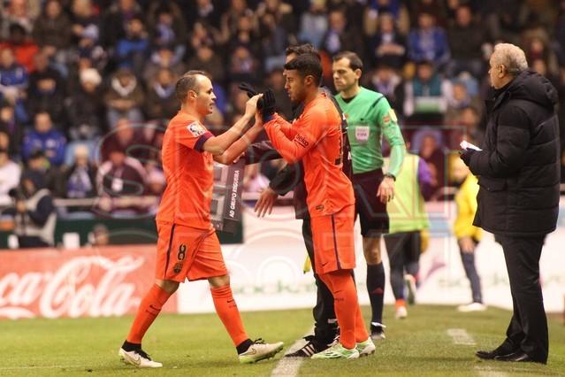 صور : مباراة ديبورتيفو لاكورونيا - برشلونة 0-4 ( 18-01-2015 )  1421614444866