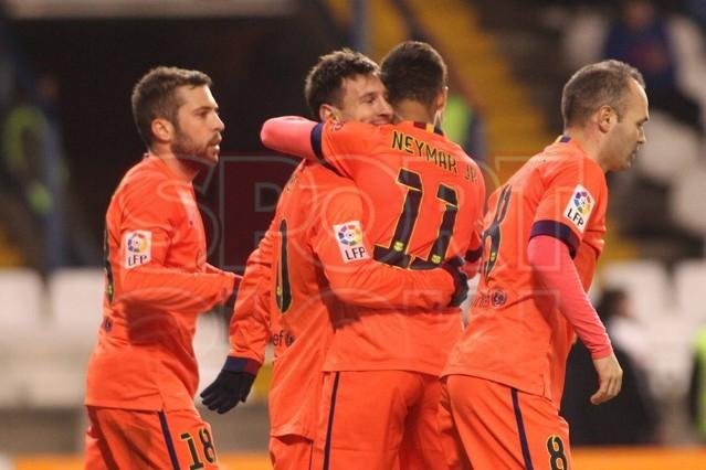 صور : مباراة ديبورتيفو لاكورونيا - برشلونة 0-4 ( 18-01-2015 )  1421614449266