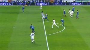 Cristiano Ronaldo pidió penalti de Cabral
