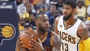 Otra magistral actuación de LeBron llevó a los Cavaliers a segunda ronda